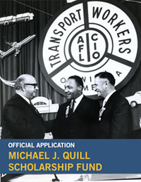 Image of Quill Scholarship Application: Quill with MLK in 1961